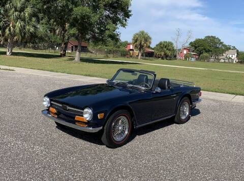 1969 Triumph TR6 for sale at P J'S AUTO WORLD-CLASSICS in Clearwater FL