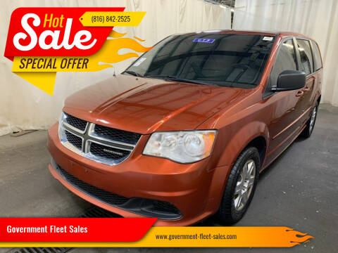 2012 Dodge Grand Caravan for sale at Government Fleet Sales in Kansas City MO