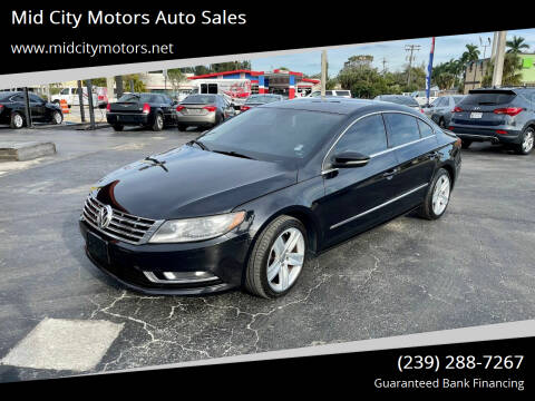 2013 Volkswagen CC for sale at Mid City Motors Auto Sales in Fort Myers FL
