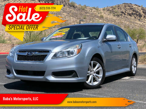 2014 Subaru Legacy for sale at Baba's Motorsports, LLC in Phoenix AZ