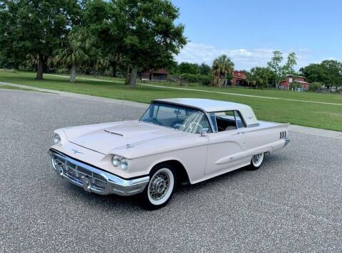 1960 Ford Thunderbird for sale at P J'S AUTO WORLD-CLASSICS in Clearwater FL