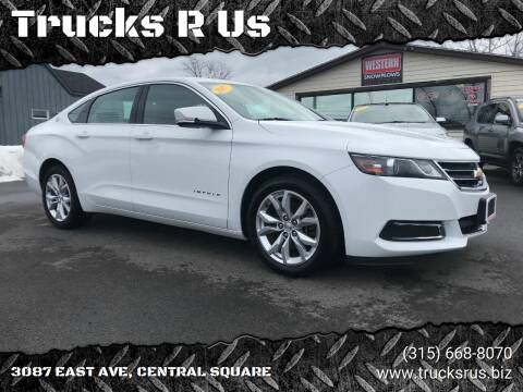 2017 Chevrolet Impala for sale at Trucks R Us in Central Square NY