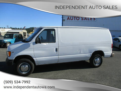 2002 Ford E-Series Cargo for sale at Independent Auto Sales in Spokane Valley WA