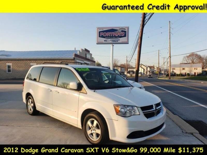 2012 Dodge Grand Caravan for sale at Fortnas Used Cars in Jonestown PA