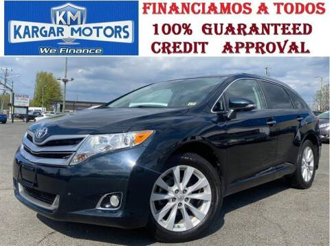 2015 Toyota Venza for sale at Kargar Motors of Manassas in Manassas VA