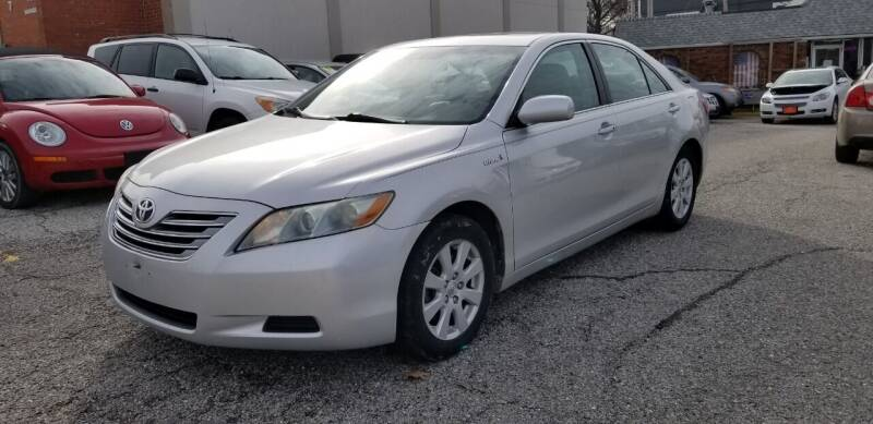 2009 Toyota Camry Hybrid for sale at AA Auto Sales LLC in Columbia MO