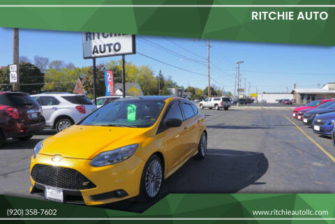 2013 Ford Focus for sale at Ritchie Auto in Appleton WI
