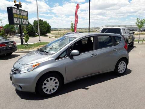2015 Nissan Versa Note for sale at More-Skinny Used Cars in Pueblo CO