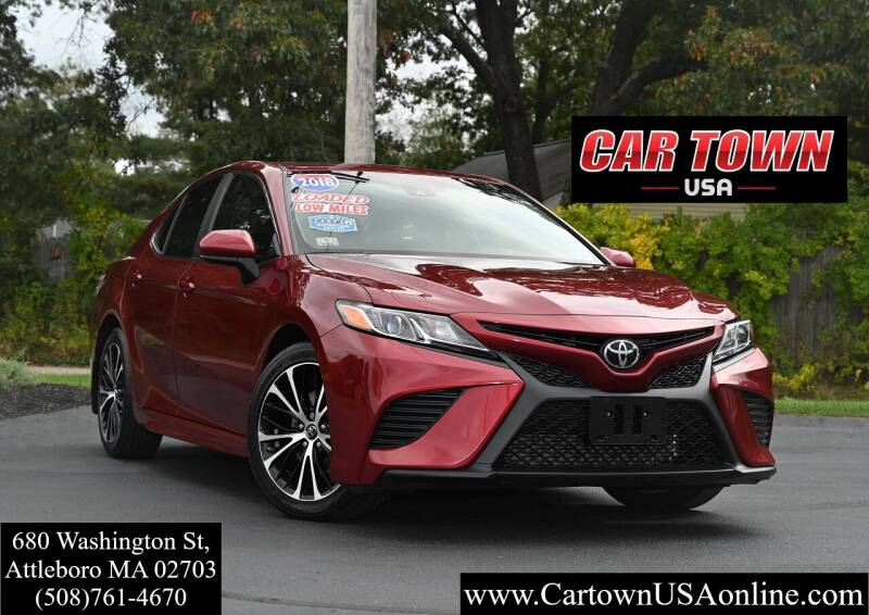 2018 Toyota Camry for sale at Car Town USA in Attleboro MA