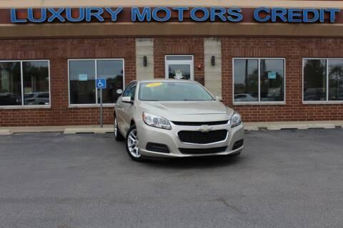 2015 Chevrolet Malibu for sale at Luxury Motors Credit Inc in Bridgeview IL
