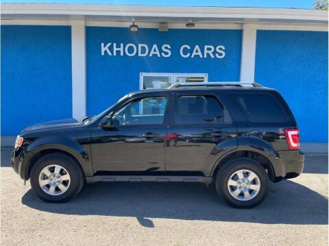 2010 Ford Escape for sale at Khodas Cars in Gilroy CA