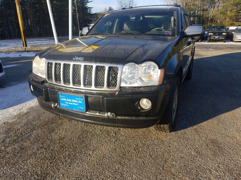 2006 Jeep Grand Cherokee for sale at Lewis Auto Sales in Lisbon ME