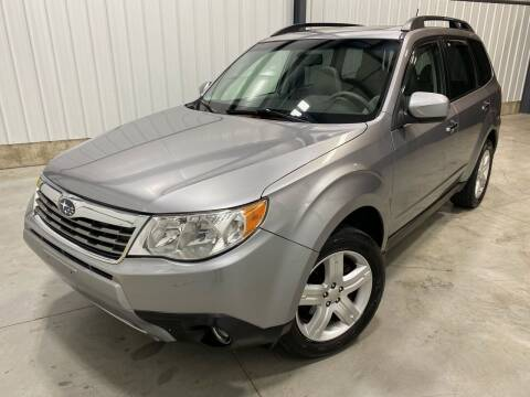 2010 Subaru Forester for sale at EUROPEAN AUTOHAUS, LLC in Holland MI
