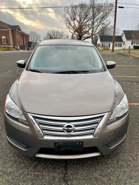 2015 Nissan Sentra for sale at AR's Used Car Sales LLC in Danbury CT