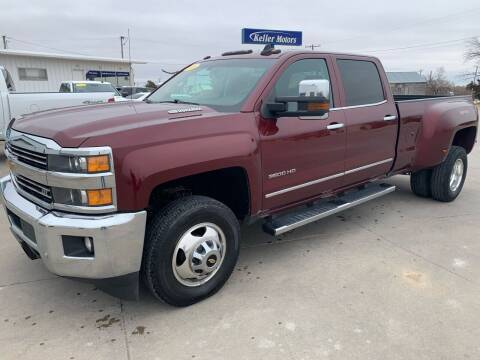 2016 Chevrolet Silverado 3500HD for sale at Keller Motors in Palco KS