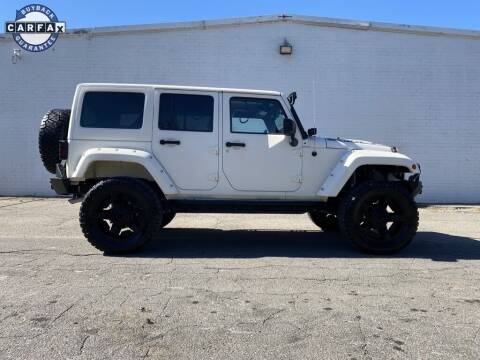 2015 Jeep Wrangler Unlimited for sale at Smart Chevrolet in Madison NC
