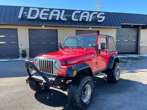 2004 Jeep Wrangler for sale at I-Deal Cars in Harrisburg PA