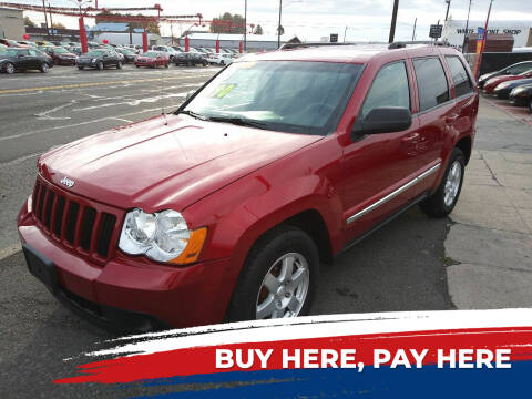 2010 Jeep Grand Cherokee for sale at Speedway Auto Sales in Yakima WA