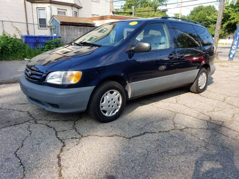 2003 Toyota Sienna for sale at Devaney Auto Sales & Service in East Providence RI