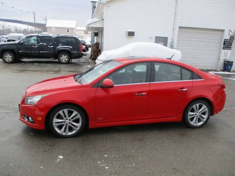 2014 Chevrolet Cruze for sale at ROUTE 119 AUTO SALES & SVC in Homer City PA