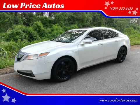 2010 Acura TL for sale at Low Price Autos in Beaumont TX