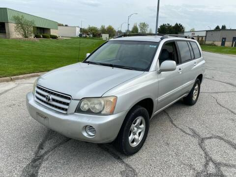 2002 Toyota Highlander for sale at JE Autoworks LLC in Willoughby OH