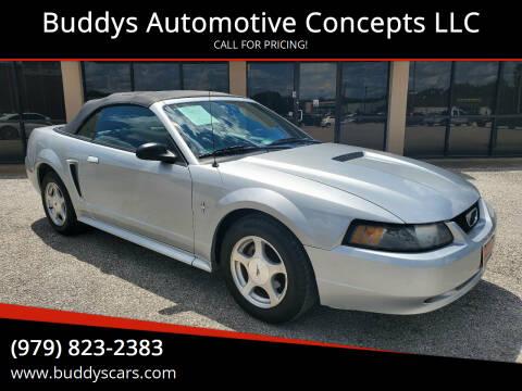 2001 Ford Mustang for sale at Buddys Automotive Concepts LLC in Bryan TX