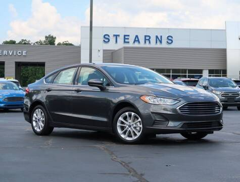 2020 Ford Fusion Hybrid for sale at Stearns Ford in Burlington NC