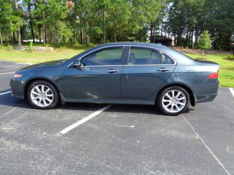 2006 Acura TSX for sale at BALKCUM AUTO INC in Wilmington NC