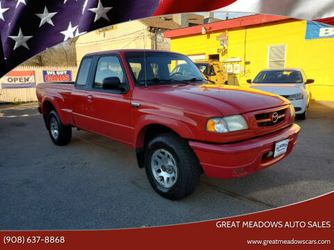 2002 Mazda Truck for sale at GREAT MEADOWS AUTO SALES in Great Meadows NJ