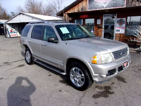 2004 Ford Explorer for sale at LEE AUTO SALES in McAlester OK