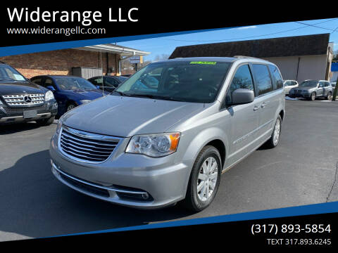 2014 Chrysler Town and Country for sale at Widerange LLC in Greenwood IN