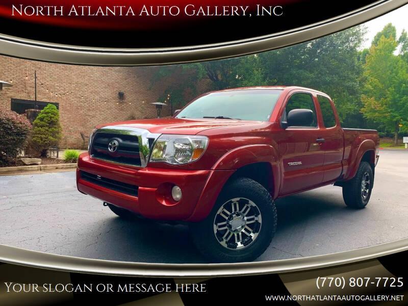 2007 Toyota Tacoma for sale at North Atlanta Auto Gallery, Inc in Alpharetta GA