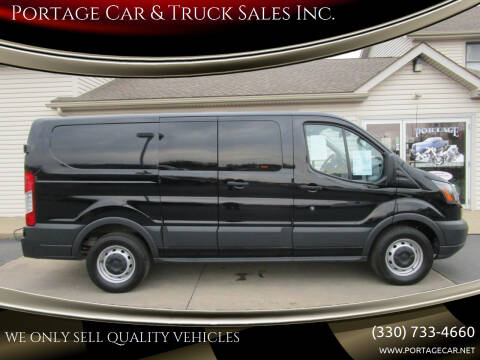 2018 Ford Transit Cargo for sale at Portage Car & Truck Sales Inc. in Akron OH