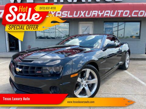 2011 Chevrolet Camaro for sale at Texas Luxury Auto in Cedar Hill TX