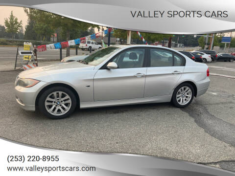2007 BMW 3 Series for sale at Valley Sports Cars in Des Moines WA