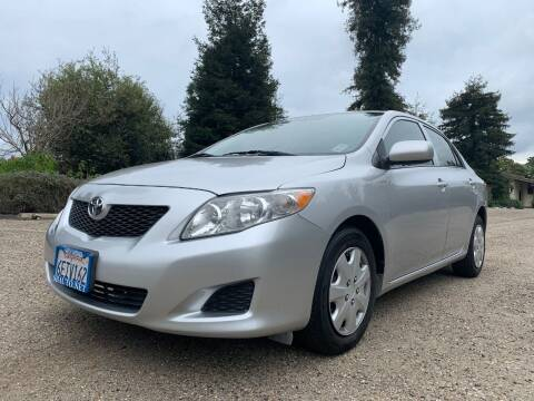 2009 Toyota Corolla for sale at Santa Barbara Auto Connection in Goleta CA
