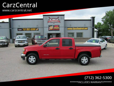 2004 GMC Canyon for sale at CarzCentral in Estherville IA