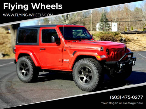 2021 Jeep Wrangler for sale at Flying Wheels in Danville NH