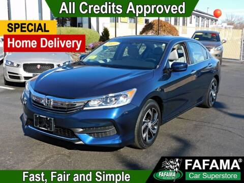 2017 Honda Accord for sale at FAFAMA AUTO SALES Inc in Milford MA