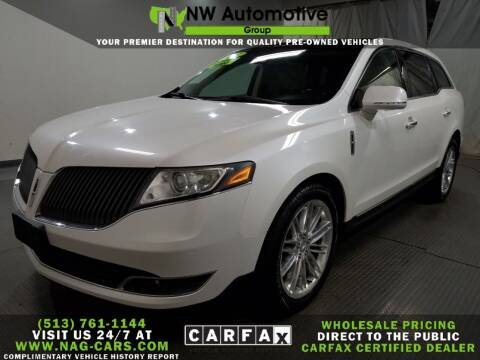 2013 Lincoln MKT for sale at NW Automotive Group in Cincinnati OH