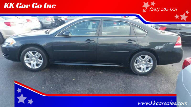 2014 Chevrolet Impala Limited for sale at KK Car Co Inc in Lake Worth FL