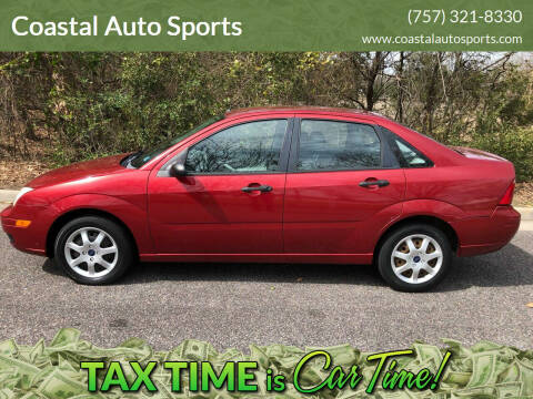 2005 Ford Focus for sale at Coastal Auto Sports in Chesapeake VA