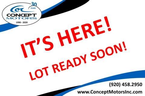 2012 Honda Accord for sale at CONCEPT MOTORS INC in Sheboygan WI