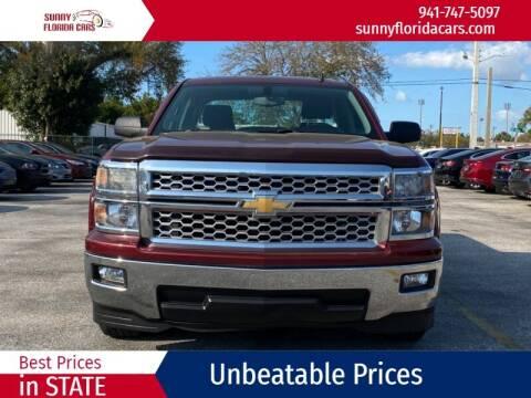 2014 Chevrolet Silverado 1500 for sale at Sunny Florida Cars in Bradenton FL