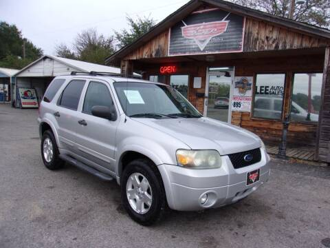 2007 Ford Escape for sale at LEE AUTO SALES in McAlester OK