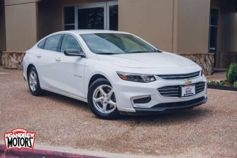 2017 Chevrolet Malibu for sale at Mcandrew Motors in Arlington TX