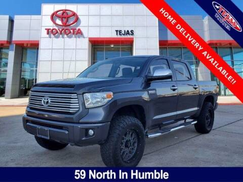 2017 Toyota Tundra for sale at TEJAS TOYOTA in Humble TX