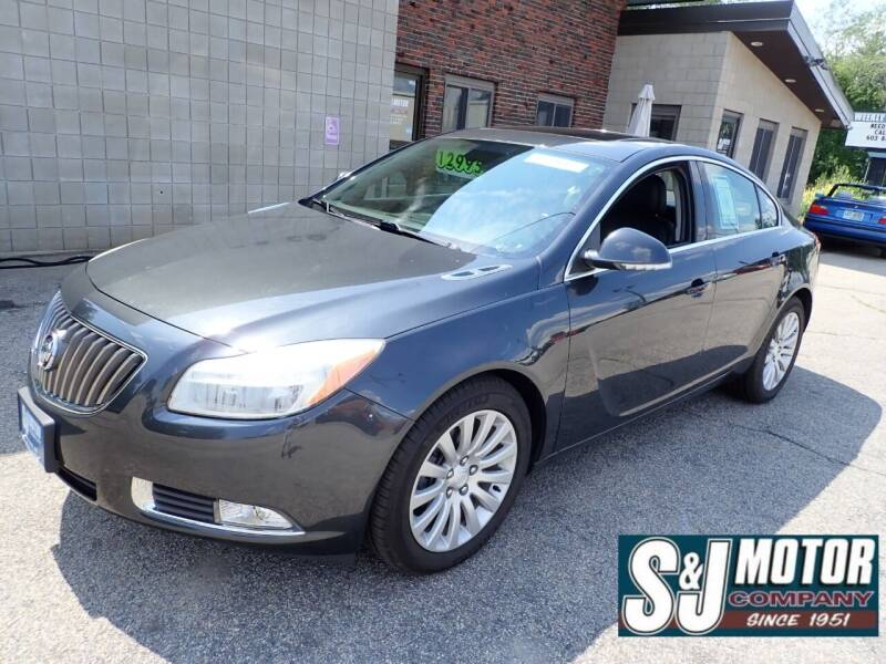 2012 Buick Regal for sale at S & J Motor Co Inc. in Merrimack NH