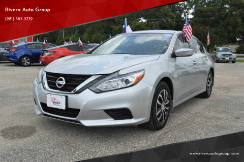 2017 Nissan Altima for sale at Rivera Auto Group in Spring TX
